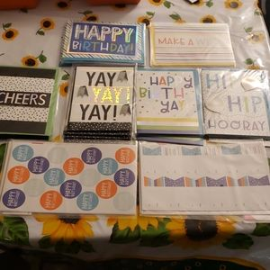 Celebration cards, tags, and stickers.